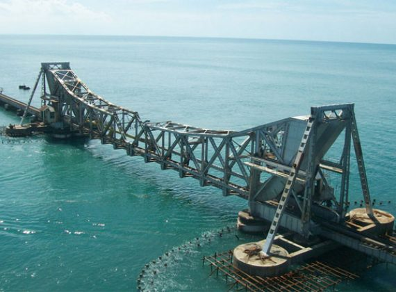 Pamban Bridge Rameswaram